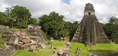 The Mystery of Tikal  An ancient Mayan city, once hidden by overgrown jungle, evokes a childlike sense of wonder