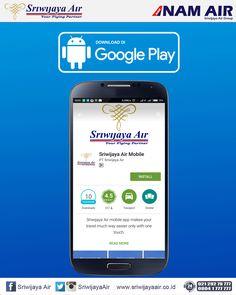 Terbang ke berbagai destinasi di Indonesia bersama Sriwijaya Air, pesan tiketnya melalui Mobile App kami dan menangkan hadiahnya! Info selengkapnya untuk event ini : on.fb.me/1XH3iEZ . Sriwijaya Air Group
