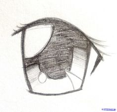 How I Draw Anime Eyes, Step by Step, Drawing Guide, by Gummi