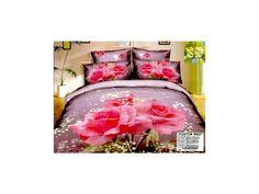 Povlečení 3D RŮŽE 200x220 - BytovyShop.cz Bed, Furniture, Home Decor, Decoration Home, Stream Bed, Room Decor, Home Furnishings, Beds, Home Interior Design