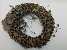 Pine Christmas wreath.