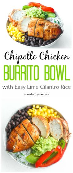 Chipotle Chicken Bur