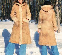 Vintage 1970's PENNY LANE Sheepskin by GimmeShelterVintage on Etsy