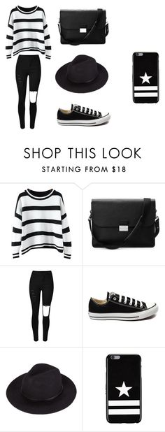 """""""Untitled #97"""" by karenrodriguez-iv on Polyvore featuring Chicnova Fashion, Aspinal of London, Converse, Givenchy, women's clothing, women, female, woman, misses and juniors"""