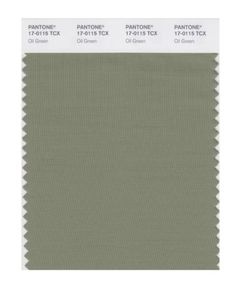 PANTONE SMART 17-0115X Color Swatch Card, Oil Green Pantone https://www.amazon.com/dp/B004O7BZQS/ref=cm_sw_r_pi_dp_x_Rc6gybEWJ96AB