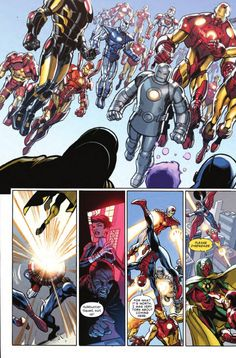 The Armors Arrive in Ultimate End #4