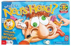 Listen to them giggle and squeal in disgust when they play the What's in Ned's Head? This game features 15 silly objects and matching cards to be pulled out of Ned's plush head! Therapy Games, Speech Therapy, Occupational Therapy, Therapy Activities, Therapy Ideas, Head Games, Best Speeches, Big Plush, Ideal Toys