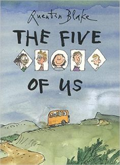 "Englisches Bilderbuch ""The five of us"" von Quentin Blake – mundo azul Quentin Blake, Mario, Professor, New Children's Books, Books 2016, Social Thinking, Children's Picture Books, Reading Challenge, Children's Book Illustration"