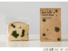anti-theft lunch bags...now you just have to worry about people throwing out your lunch!