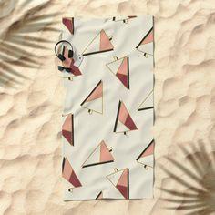 Xmas Trees Pattern #society6 #decor #xmas Beach Towel
