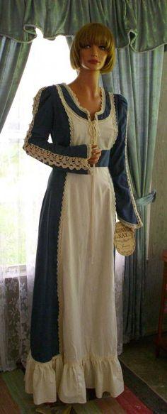 Unworn Vintage Gunne Sax Dress Tag Intact Size 13 Collector Piece
