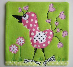 MamaCJT's birds. I love the legs!
