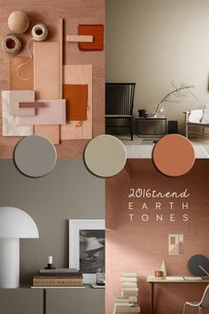 Coloured walls at home - paintind ideas for interior - ITALIANBARK #eartypaint #nude #beige
