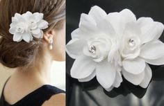 $1.80 ebay  New-Rose-Flower-Crystal-Hair-Pins-Wedding-Bridal-hair-Accessory-Bridesmaid