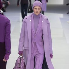 Lavender looks at @versace_official  #BullettFashion