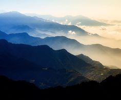 #Taiwan Central Mountain views never get old. by leetrumpore