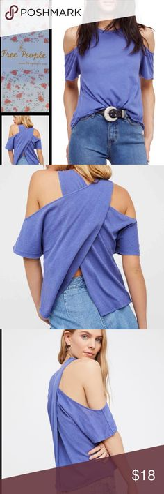 """Free People Taurus Cold Shoulder Tee - Size XS Free People Taurus Cold Shoulder Tee - Size XS Manufacturer's Details & Care:  Cut from tissue-weight cotton, this perfectly slouchy tee has cold-shoulder cutouts and crisscrossing panels in back. - Crew neck - Short sleeves with cold shoulders - Solid - Approx. 22"""" shortest length, 26"""" longest length (size S) - Imported Fiber Content 100% cotton Free People Tops"""