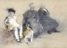 Figure Painting, Figure Drawing, Painting On Photographs, Encaustic Art, Sketchbook Inspiration, Art For Art Sake, Old Art, Portrait Art, Contemporary Paintings