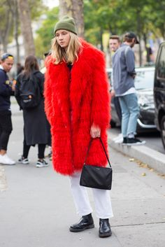 #StreetStyle at #PFW.