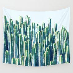 Cactus V2 #society6 #decor #fashion #tech #designerwear Wall Tapestry