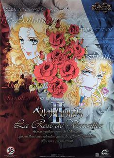 Versailles, Wine Label, Rose, Manga, Illustration, Painting, Lady, Pearls, Pink