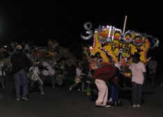 Junkanoo celebration in Marsh Harbor, Abaco, Bahamas