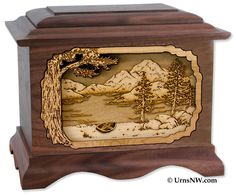 Urns Northwest  - Mountain Lakes Cremation Urn