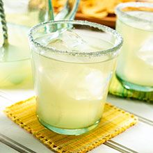 The Original Margarita is essential for the Cinqo de Mayo celebration.  This classic cocktail (which originates in Mexico) is a balance of white tequila, lemon juice and orange liqueur with a little salt to rim the glass.