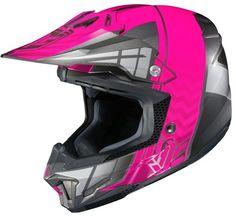 HJC CL-X7 Cross Up MX/Offroad Helmet Neon Pink/Silver XS