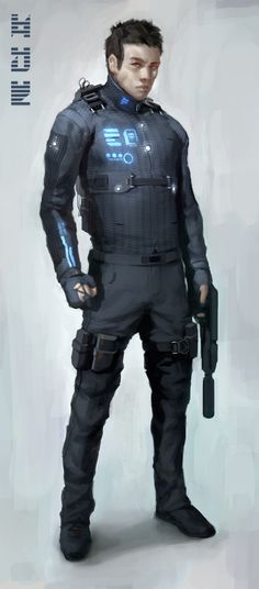 I could see this being an elite operative suit on dead space