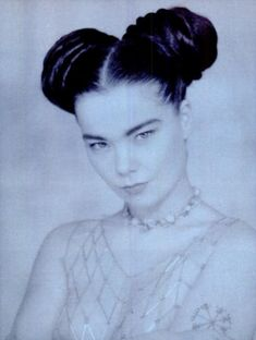 Björk by Marc LeBon featured in SPIN Magazine March 1992 issue Lauryn Hill, Anthony Kiedis, Francis Bacon, Carl Jung, Andy Warhol, Freddie Mercury, Kurt Cobain, David Bowie, Heaven Is Real
