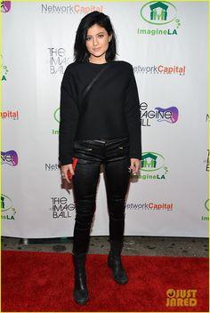 Kylie Jenner & Model Pal Sofia Richie Mingle at Imagine Ball 2014