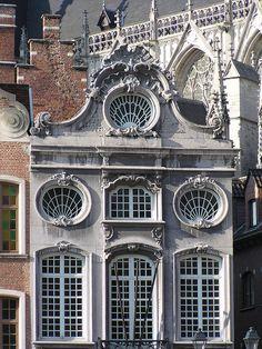 Rococo on the Grote Markt, Mechelen,  Belgium