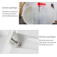 Wham Design Design Melon Ball Maker Black Steel 20/x 3/x 3/cm