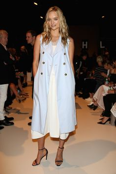 Model Gemma Ward - Tome - Front Row - Mercedes-Benz Fashion Week Australia 2015 - April 13, 2015