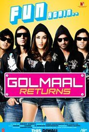 Golmaal Returns Full Movie Download. Obsessed with day-time TV soaps, Ekta Santoshi starts suspecting her husband, Gopal, of having an affair with an unknown woman. Not satisfied with his explanations, she decides to ...