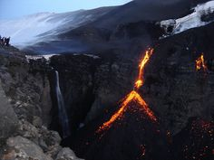Volcano in Iceland by dorisig007, via Flickr