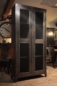 mobilier armoire industrielle ancienne bauche ou tolix de 1935 de xavier pauchard