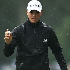 Kaymer in rain