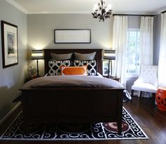 Guest room idea...WOW ... This is the exact layout of my guest room.... CB