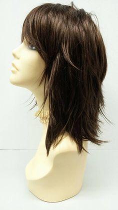 Straight and Layered w/ Bangs. Choppy Bob Haircuts, Short Layered Haircuts, Choppy Hair, Long Layered Hair, Short Bob Hairstyles, Hairstyles With Bangs, Medium Layered, Black Hairstyles, Men's Hairstyle