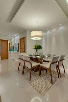 Navegue por fotos de Salas de jantar modernas: Projeto. Veja fotos com as melhores ideias e inspirações para criar uma casa perfeita.