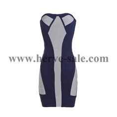 Herve Leger Black and Grey Strapless Sexy Bandage Dress Herve Leger Dress, Valentino, Athletic Tank Tops, Black And Grey, Dresses For Work, Sexy, Casual, Fashion, Moda Femenina