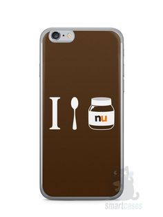 Capa Iphone 6/S Nutella #4 - SmartCases - Acessórios para celulares e tablets :)