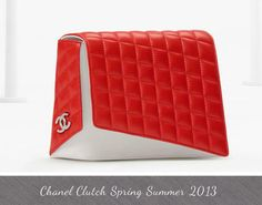 Chanel Bags 2013 Clutch Spring Summer