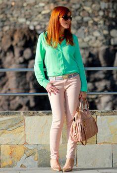 MENTA-LIZATE!!  #fashion #style #outfit  #look , Primark en Camisas / Blusas, Gucci en Cinturones, Zara en Pantalones, Miu Miu en Bolsos, Zara en Tacones / Plataformas, John Galliano en Gafas / Gafas de sol