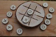 Rustico legno tondo tris set - su ordinazione