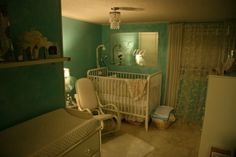 A Tiffany's Nursery so cute