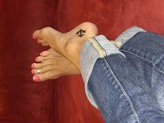 Anchor tattoo. exactly where I want mine!