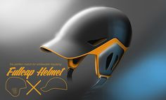 FullCap helmet by pierre vioules, via Behance